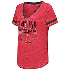 Women's Campus Heritage Maryland Terrapins Gunther Jersey Tee