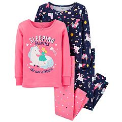 Toddler Girl Carter's Unicorn Tops & Bottoms Pajama Set
