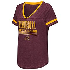 Women's Campus Heritage Minnesota Golden Gophers Gunther Jersey Tee