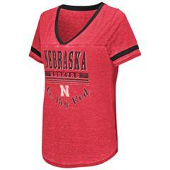 Women's Campus Heritage Nebraska Cornhuskers Gunther Jersey Tee