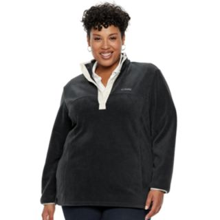 Plus Size Columbia Three Lakes Fleece Pullover Jacket