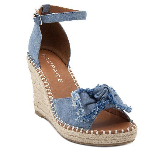Rampage Hayna Women's Wedge Sandals