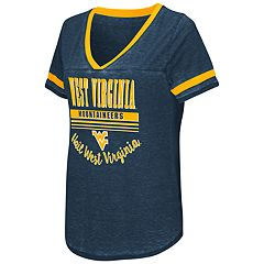 Women's Campus Heritage West Virginia Mountaineers Gunther Jersey Tee