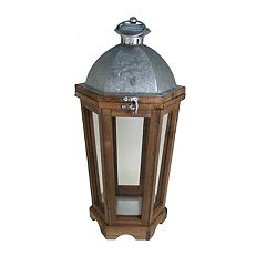 SONOMA Goods for Life™ Farmhouse Rustic Lantern Table Decor