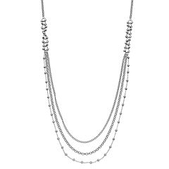 Beaded Long Nickel Free Swag Necklace