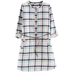 Girls 4-12 Carter's Plaid Flannel Dress