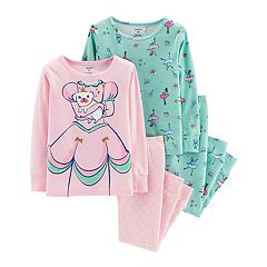 Toddler Girl Carter's Princess & Ballerina Tops & Bottoms Pajama Set