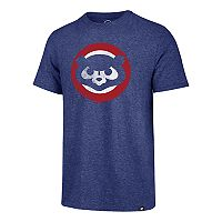 Men's '47 Brand Chicago Cubs Throwback Tee