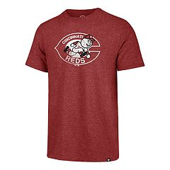 Men's '47 Brand Cincinnati Reds Throwback Tee