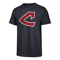 Men's '47 Brand Cleveland Indians Throwback Tee