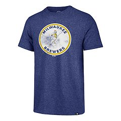 Men's '47 Brand Milwaukee Brewers Throwback Tee