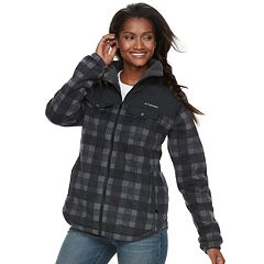 Women's Columbia Three Lakes Plaid Fleece Jacket