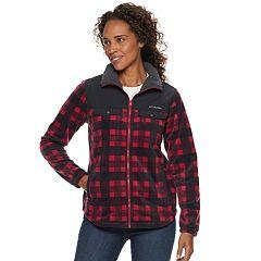 Women's Columbia Three Lakes Plaid Fleece Jacket