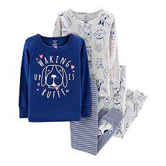 Toddler Girl Carter's Dog Tops & Bottoms Pajama Set