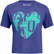 Girls 7-16 Under Armour Heart Graphic Tee