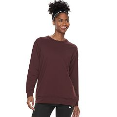 Women's Nike Dry Training Open Back Long Sleeve Top