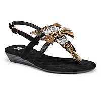 MUK LUKS Lucille Women's Sling-Back Sandals