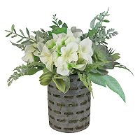 SONOMA Goods for Life™ Artificial Hydrangea Farmhouse Table Decor