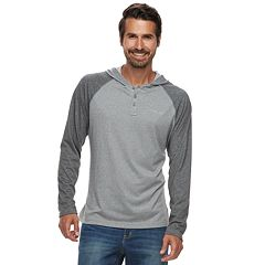 Big & Tall Columbia Wildberry Omni-Wick Colorblock Raglan Hoodie