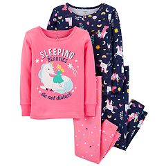 Baby Girl Carter's Unicorn Tops & Bottoms Pajama Set