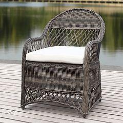Safavieh Contemporary Indoor / Outdoor Wicker Arm Chair