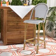 Safavieh Indoor / Outdoor Stacking Bistro Bar Stool