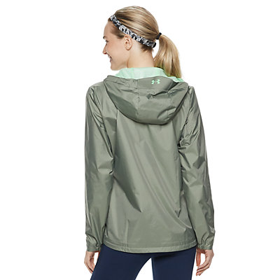 Women's Under Armour Hooded Rain Jacket