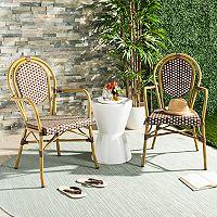 Safavieh Indoor / Outdoor Bistro Arm Chair 2-piece Set
