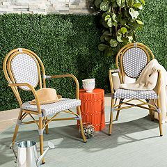 Safavieh Indoor / Outdoor Bistro Arm Chair 2-piece Set