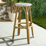 Safavieh Wicker Seat Indoor / Outdoor Bar Stool