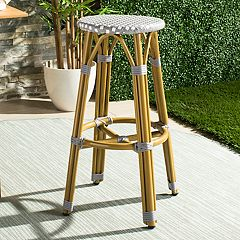 Safavieh Wicker Seat Indoor / Outdoor Bar Stool