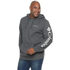Big & Tall Columbia Viewmont II Logo Graphic Hoodie