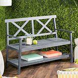 Safavieh Indoor / Outdoor Storage Bench