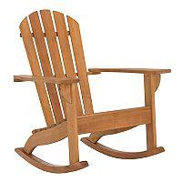 Safavieh Indoor / Outdoor Rocking Adirondack Chair