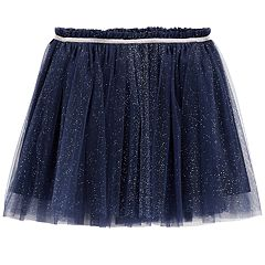 Girls 4-12 Carter's Glittery Tulle Skirt