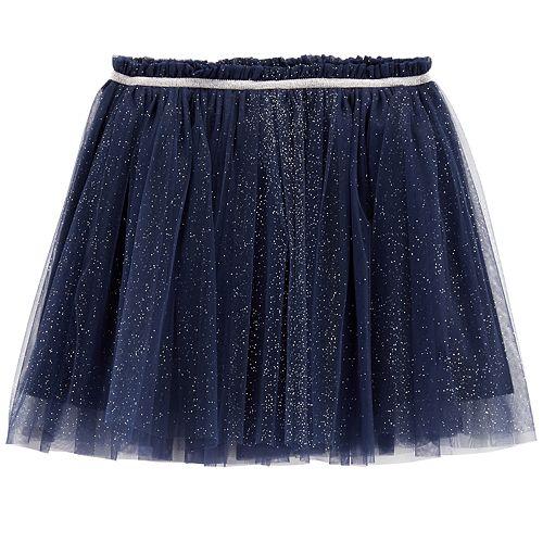 Girls 4-12 Carter's Glittery Tulle Skirt