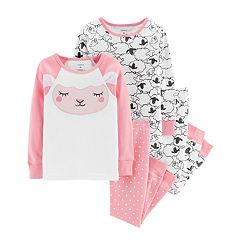 Baby Girl Carter's Sheep Tops & Bottoms Pajama Set