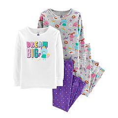 Baby Girl Carter's 'Dream Big' Tops & Bottoms Pajama Set