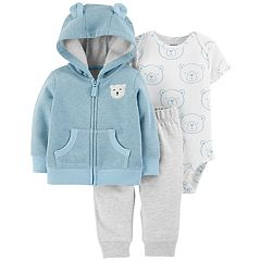 Baby Boy Carter's 3-Piece Bear Bodysuit Set