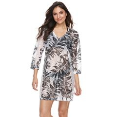 Women's Apt. 9® Burnout Palm Leaf Cover-Up