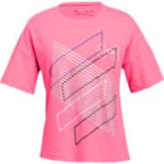 "Girls 7-16 Under Armour ""Step It Up"" Short Sleeve Graphic Tee"