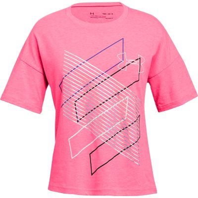 """Girls 7-16 Under Armour """"Step It Up"""" Short Sleeve Graphic Tee"""