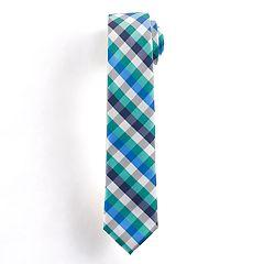 Boys 4-20 Chaps Babbit Check Tie
