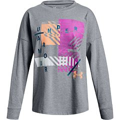 Girls 7-16 Under Armour Verge Long Sleeve Graphic Tee