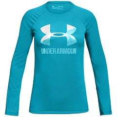 Girls 7-16 Under Armour Long Sleeve Big Logo Graphic Tee