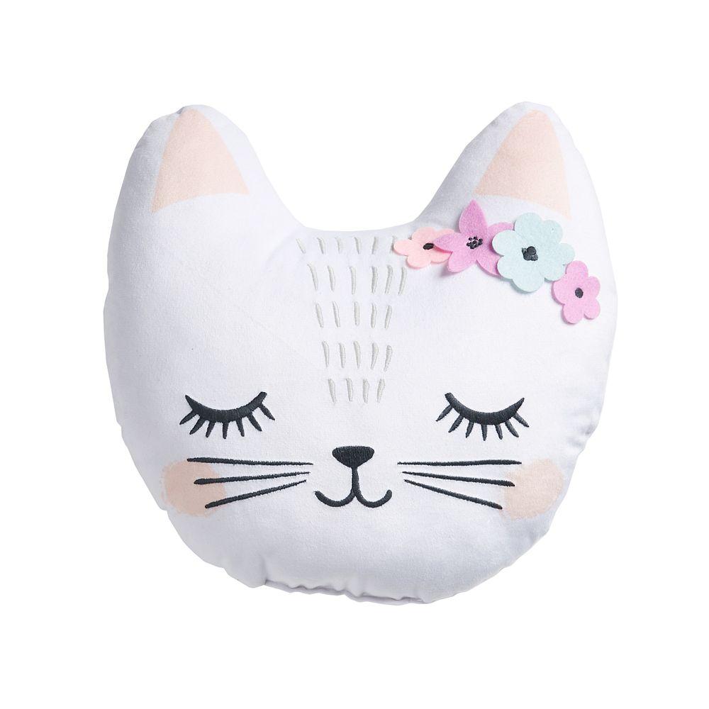 SONOMA Goods for Life® Kids Cat Throw Pillow