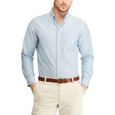 Men's Chaps Classic-Fit Stretch Oxford Button-Down Shirt