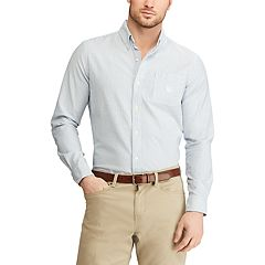 Men's Chaps Classic-Fit Stretch Oxford Button-Down Shirt