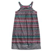 Girls 6-16 Cuddl Duds Printed Dorm Nightgown