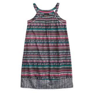 Girls 6-16 Cuddl Duds Printed Dorm Nightgown